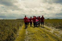 2014, Joelettes sur 25 km